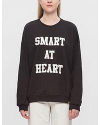 Carhartt WIP Black Eason Smart At Heart Sweatshirt