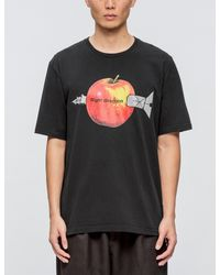 """Undercover Black """"right Direction"""" S/s T-shirt for men"""