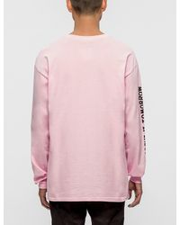 The Quiet Life - Pink Worry L/s T-shirt for Men - Lyst