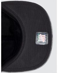 Undefeated Black Taped Undftd Camp Cap for men