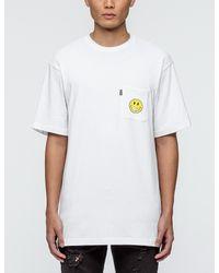 RIPNDIP White Everything'll Be Ok Pocket T-shirt for men