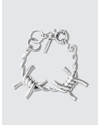 Ambush - Metallic Classic Chain 3 Bracelet - Lyst