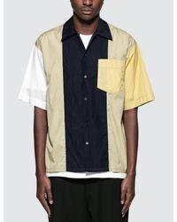 Marni Blue S/s Sport Shirt for men