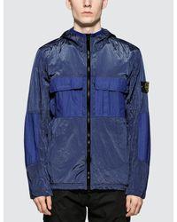 Stone Island Blue Jacket for men