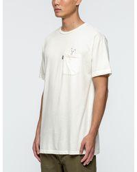 RIPNDIP Natural Nermshroom Pocket T-shirt for men