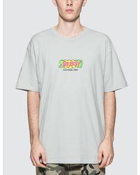 Stussy | Multicolor Liquid T-shirt for Men | Lyst