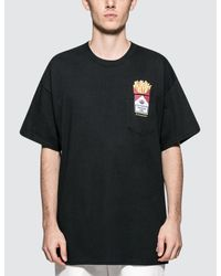 #FR2 Black Love & Hate Pocket S/s T-shirt for men