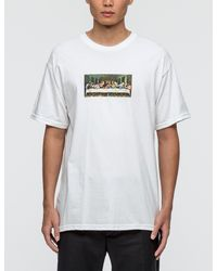 SSUR White Last Riot T-shirt for men