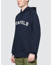 Penfield Blue Dwight Hoodie for men