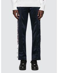 Champion Blue Track Pants for men