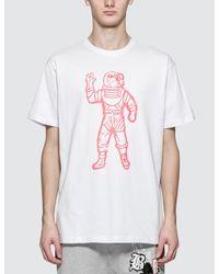 BBCICECREAM White Bb Astronaut S/s T-shirt for men
