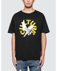 YRN - Black White Birds S/s T-shirt for Men - Lyst