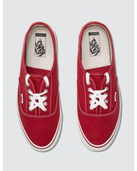 Vans - Red Alyx X Og Style 43 Authentic Fold Down - Lyst