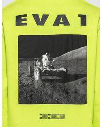 BBCICECREAM Yellow Eva-1 Popover Hoodie for men
