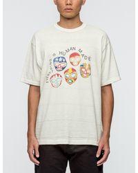 Human Made - White #1403 Masks S/s T-shirt for Men - Lyst