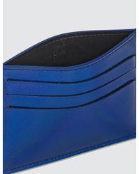 Maison Margiela Blue Card Holder for men