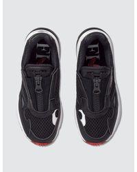 Adidas Originals Black X Fiorucci Falcon Zip Sneaker
