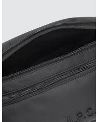 A.P.C. Black Banane Raphael Bag for men