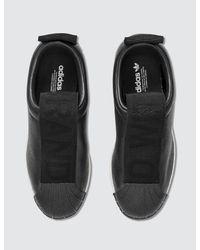 Adidas Originals Black Superstar New Fsh W