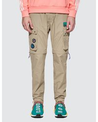 Adidas Originals Natural Pharrell Williams X Adidas Human Race Hiking Cargo Pants for men