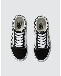 Vans Black Old Skool Platform Shoes - Size 8.5 for men