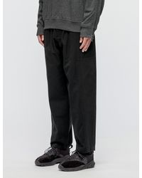3.1 Phillip Lim - Black Mixed Canvas Patchwork Trousers for Men - Lyst