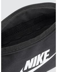 Nike Black Heritage Hip Pack for men
