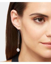Henri Bendel | Metallic Luxe Pave Halo Linear Earring | Lyst