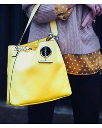 Henri Bendel - Yellow Chelsea Hobo - Lyst