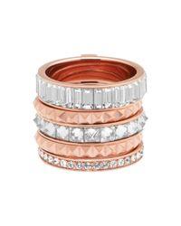 Henri Bendel | Pink Chrysler Puzzle Ring | Lyst