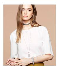 Henri Bendel - Metallic Luxe 712 Double Necklace - Lyst