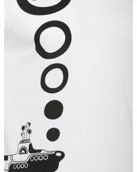 Comme des Garçons The Beatles Submarine T-shirt White for men