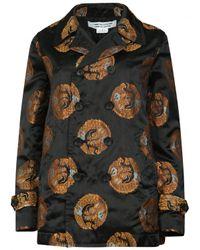 Comme des Garçons   Oriental Dragon Blazer Jacket Black   Lyst