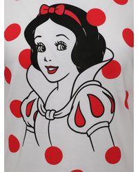Comme des Garçons Disney Snow White Graphic T-shirt White/red