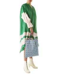 Vika Gazinskaya - Green Draped Ruched Dress - Lyst