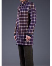 Sacai Multicolor Single Breasted Coat for men