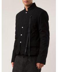 Ann Demeulemeester - Multicolor Snap Button Jacket for Men - Lyst