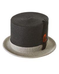 CA4LA - Multicolor Braided Silk Doctoral Hat for Men - Lyst