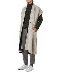 Jan Jan Van Essche - Gray Single-piece Melange Trousers for Men - Lyst