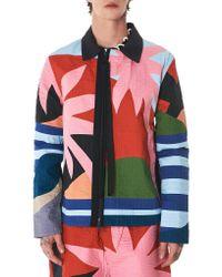Craig Green Multicolor 'holiday' Colorblock Jacket for men
