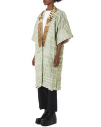 By Walid - Multicolor 'aikiko' Threaded Kimono - Lyst