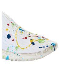 Maison Margiela - White Paint Splatter Sneaker - Lyst
