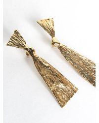 Mirit Weinstock - Metallic Gold-plated Bowed Earrings - Lyst