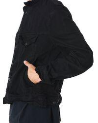 Julius - Black Distorted 12.5oz Denim Jacket for Men - Lyst