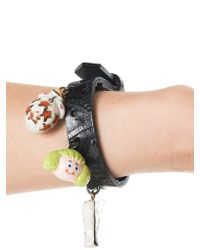 Mikio Sakabe - Multicolor Tasseled Bracelet - Lyst
