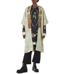 By Walid - Multicolor 'martha' Floral Silk Jacket - Lyst