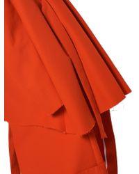 Awake - Red Oversized Raw-edge Jacket - Lyst