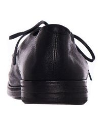 Marsèll Black Leather Derby for men