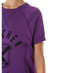 Junya Watanabe - Purple Shirt-dress Hybrid - Lyst