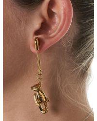 Ambush - Metallic Sculpted Lobe Earrings - Lyst